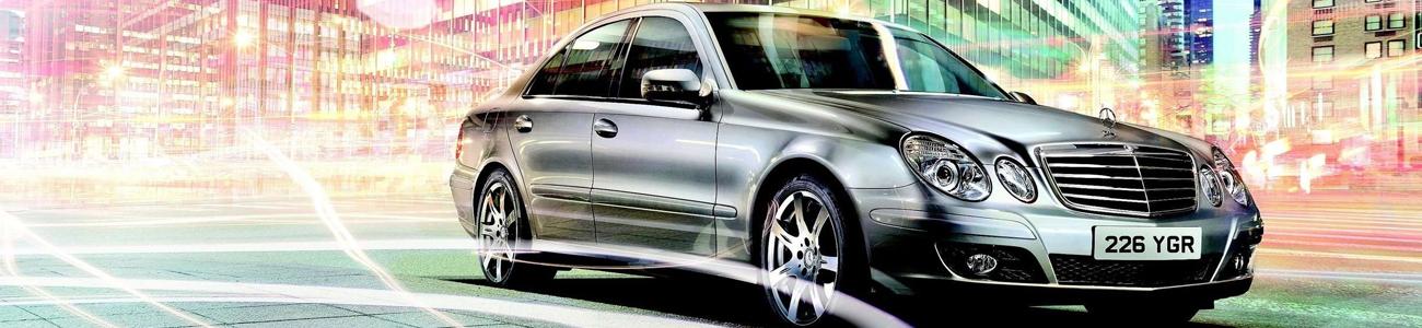 Mercedes Benz E-class for rent